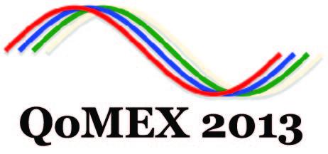 QoMEX 2013 Logo