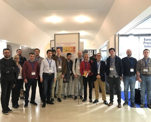 ASPIDE meeting at HiPeac 2020